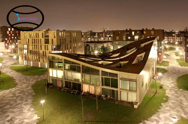 mái nhà lượn sóng theo phong thủy