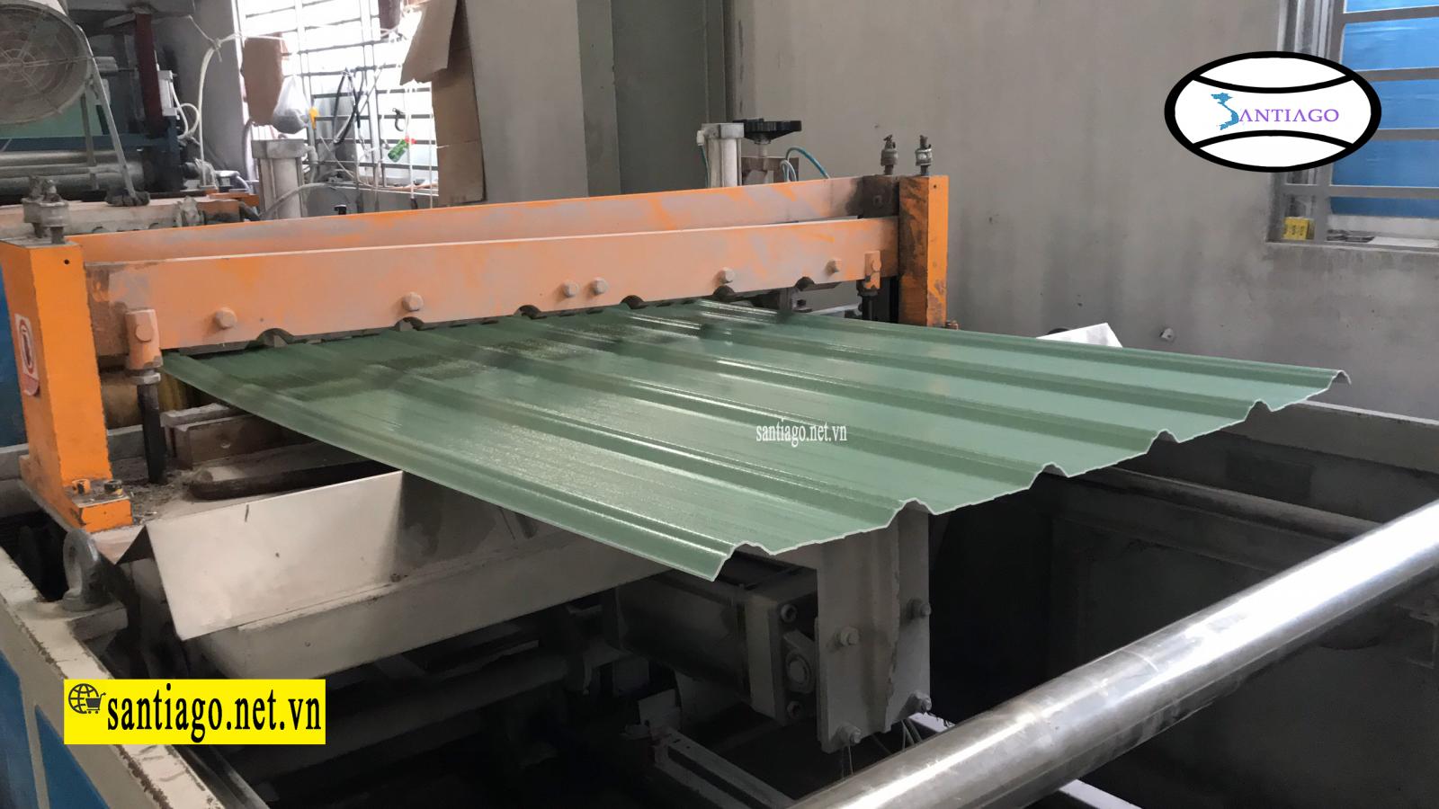 sản xuất tôn nhựa pvc