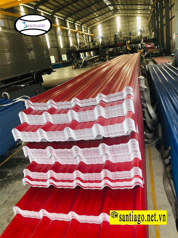 sản xuất tôn nhựa