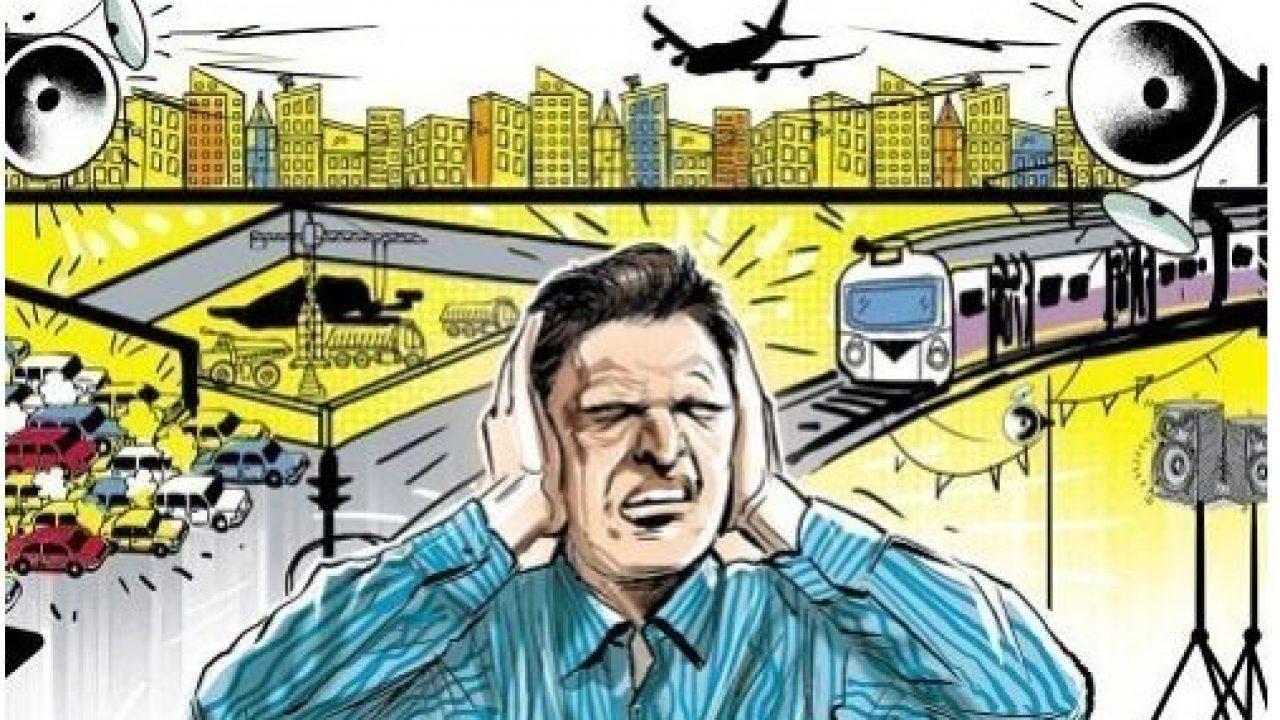 tác hại ô nhiễm tiếng ồn