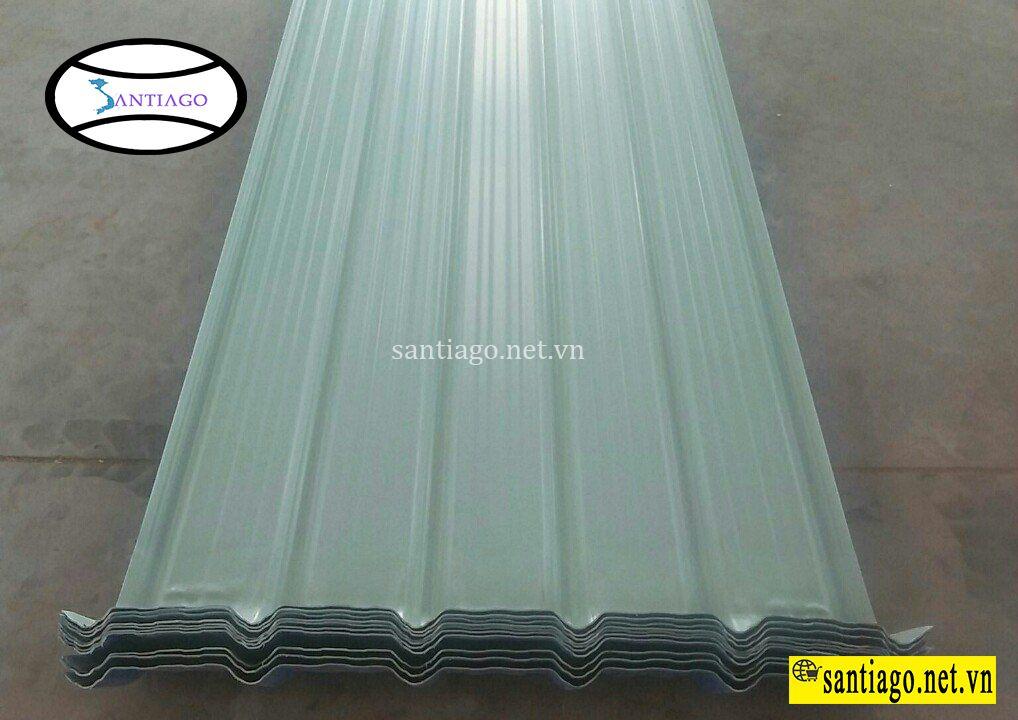 tấm vòm mái tôn nhựa pvc asa 6 sóng