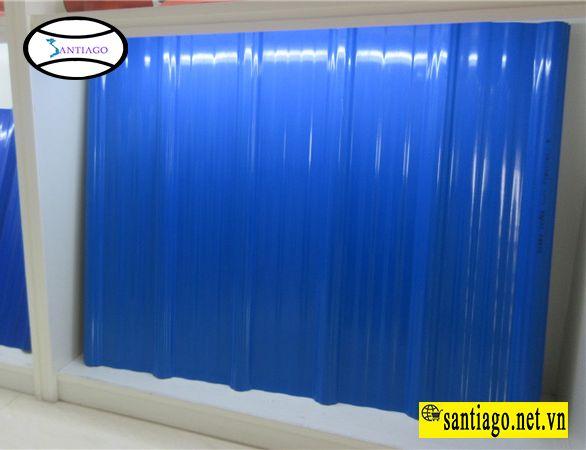 tôn nhựa 6 sóng vuông