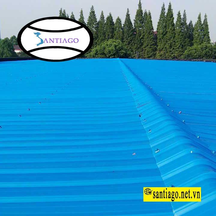 tôn nhựa pvc asa 6 sóng
